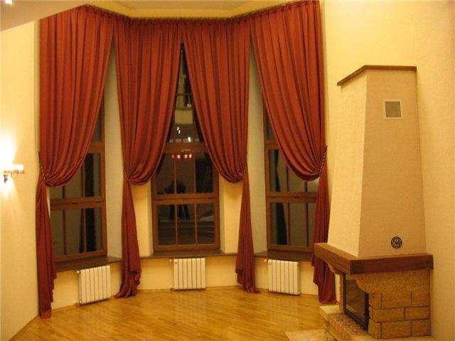 Шторы для узкого окна